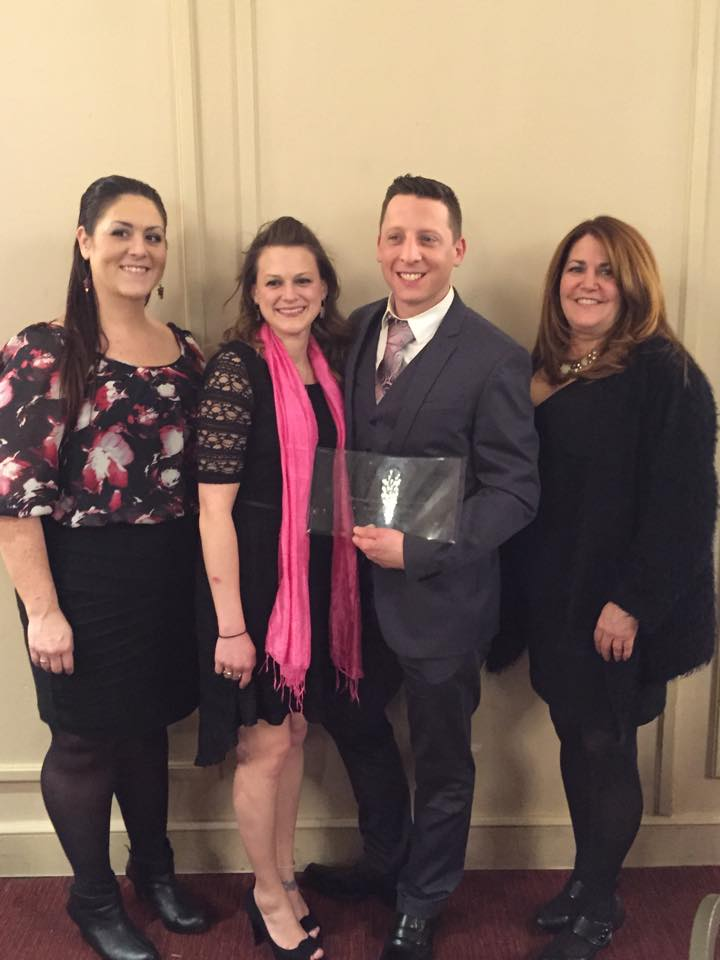 Christian Dumais named Entrepreneur of the Year