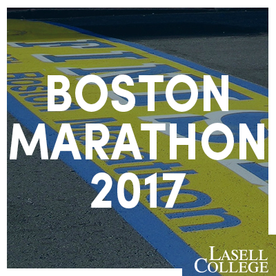 Lasell Runs the Boston Marathon