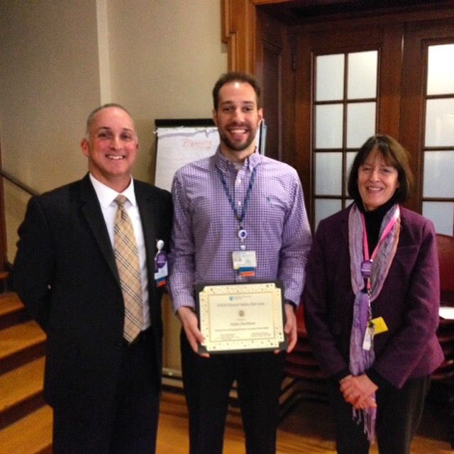 Adam Dushman '08 Awarded Newton-Wellesley Hospital's Patient Safety Star Award
