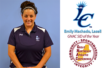Emily Machado '13 Named GNAC Sports Information Director of the Year